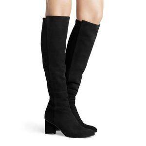 Stuart Weitzman Eloise 75  to-the-knee Suede Boots